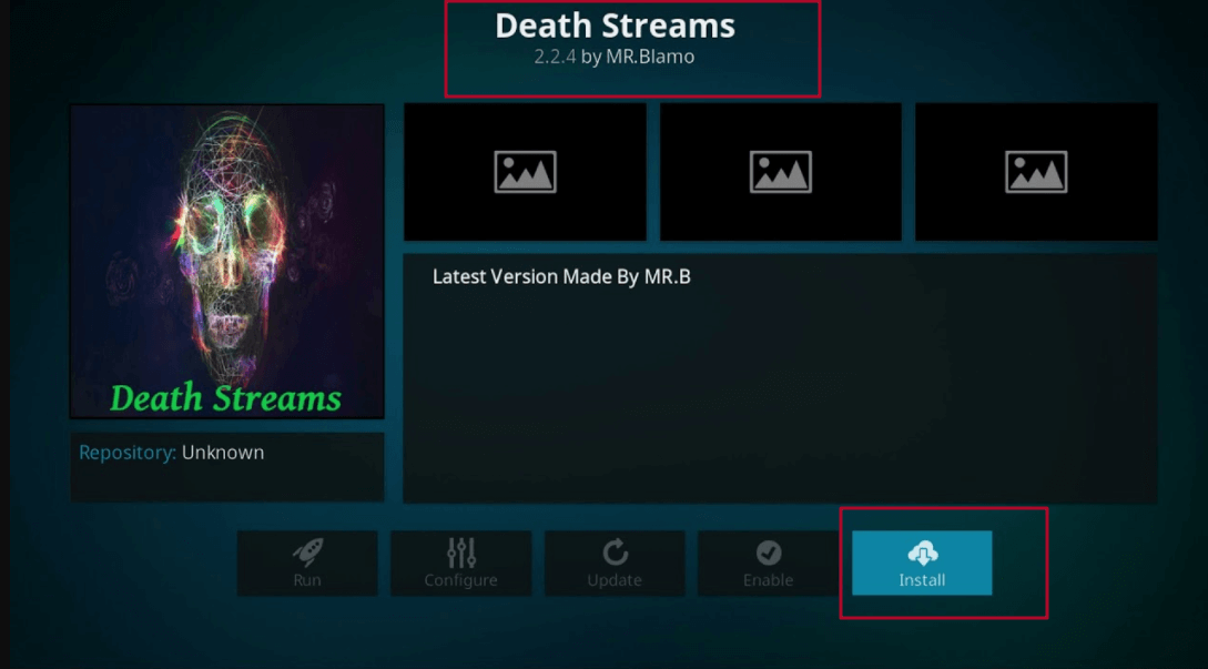 How to Install Death Streams Kodi addon