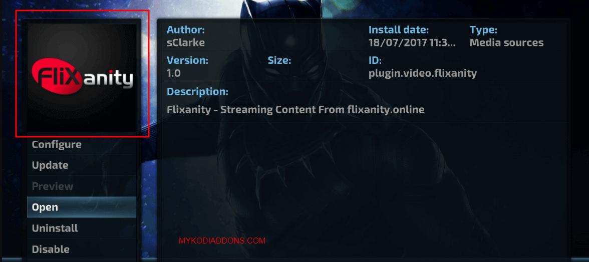 How to Install Flixanity Kodi addon on Krypton