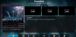 How to Install Poseidon Kodi addon on Krypton and Firestick