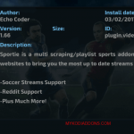 How to Install Sportie Kodi addon on Krypton and Firestick