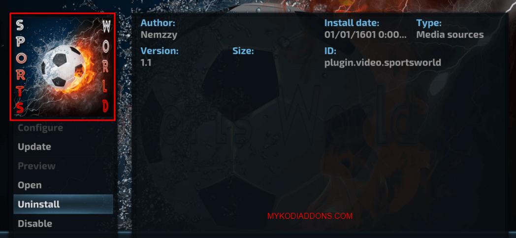How to Install Sports World Kodi addon on Krypton and Firestick