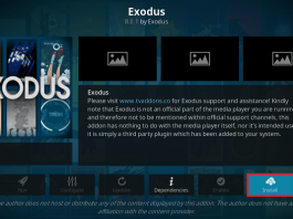 Install All New Exodus Kodi Addon