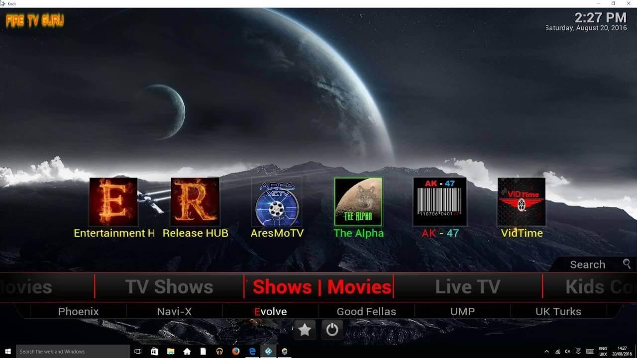 Kodi Fire Tv Guru Build