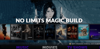 No Limits Magic Build for Kodi Leia