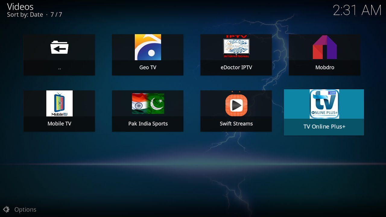 Swift Streamz Kodi