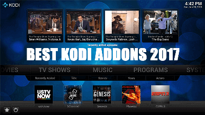 12 Best Working Kodi addons