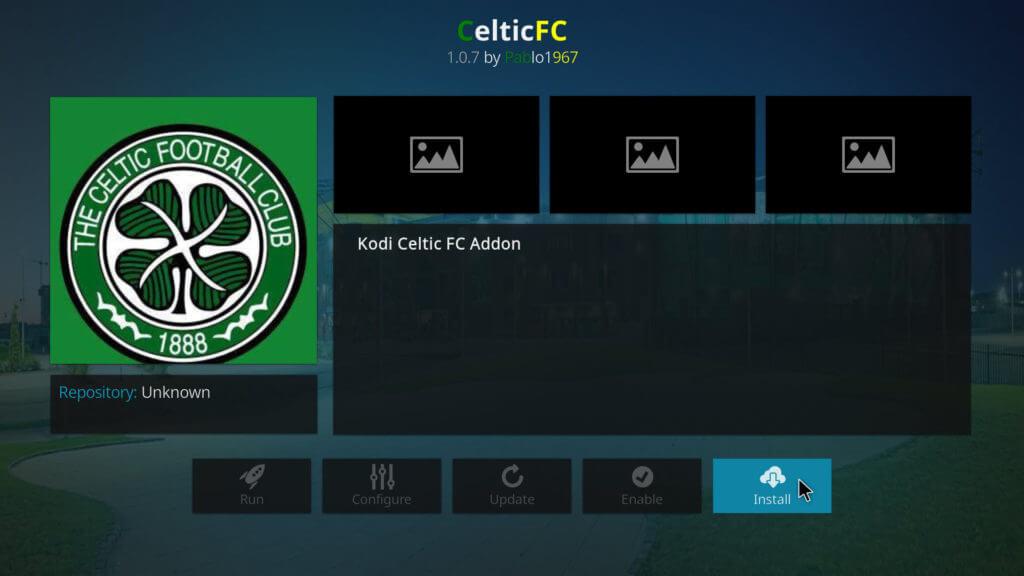 Celtic FC Kodi