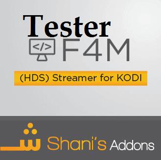 F4M Tester Kodi