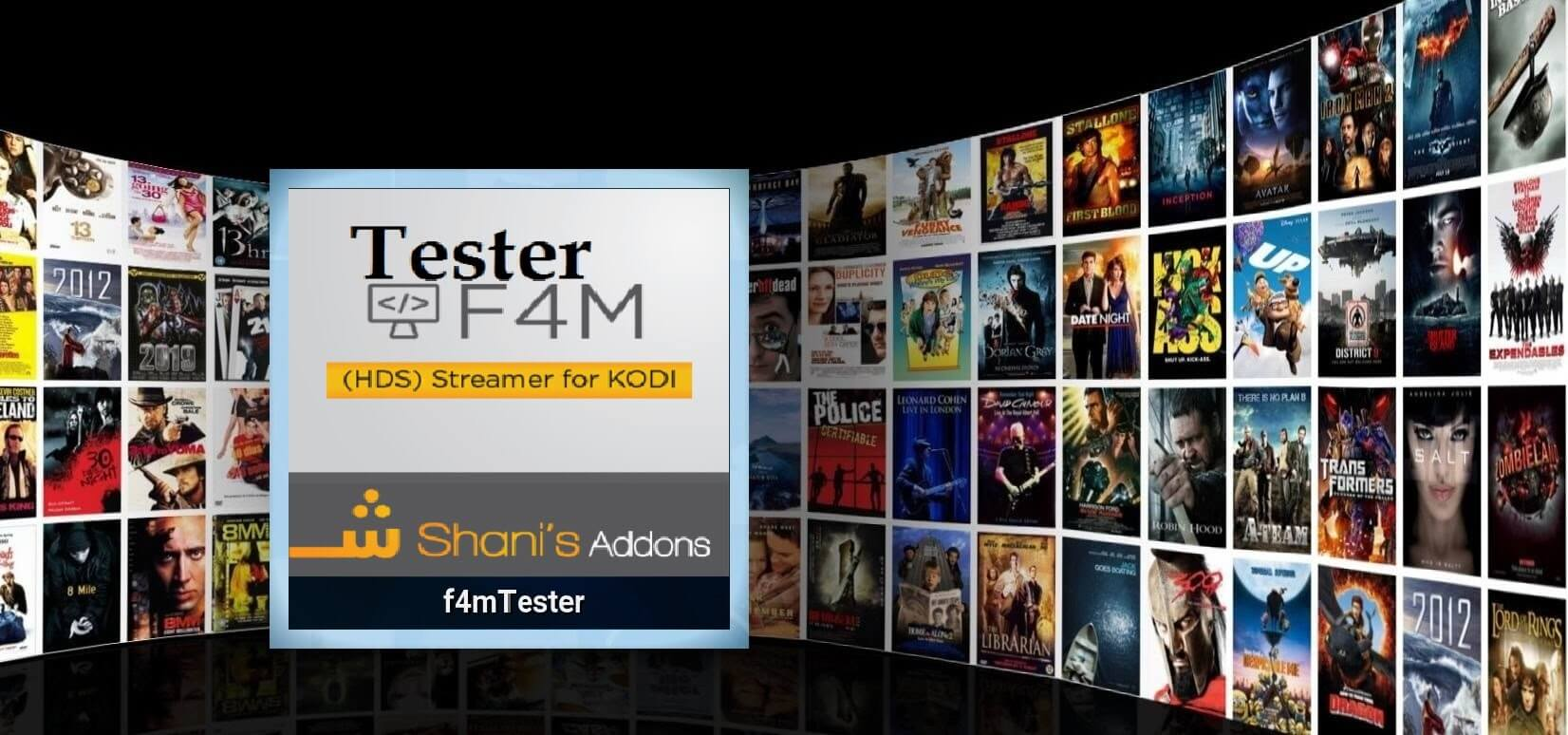 How to Install F4M Tester Kodi addon on Krypton