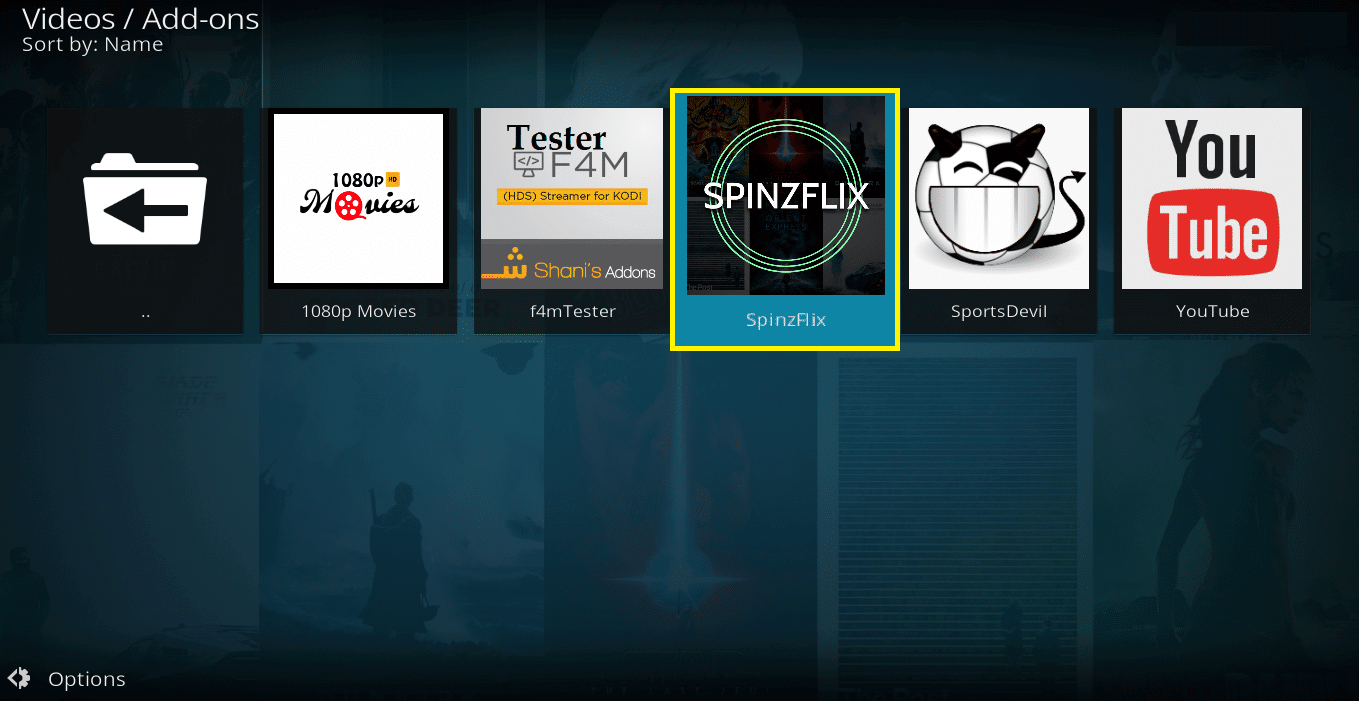 How to install SpinzFlix Kodi addon on krypton