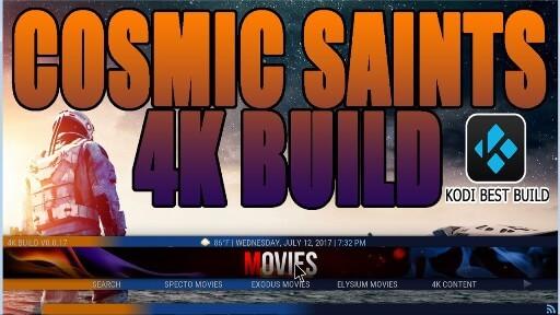 Cosmic Saints Build Kodi Krypton