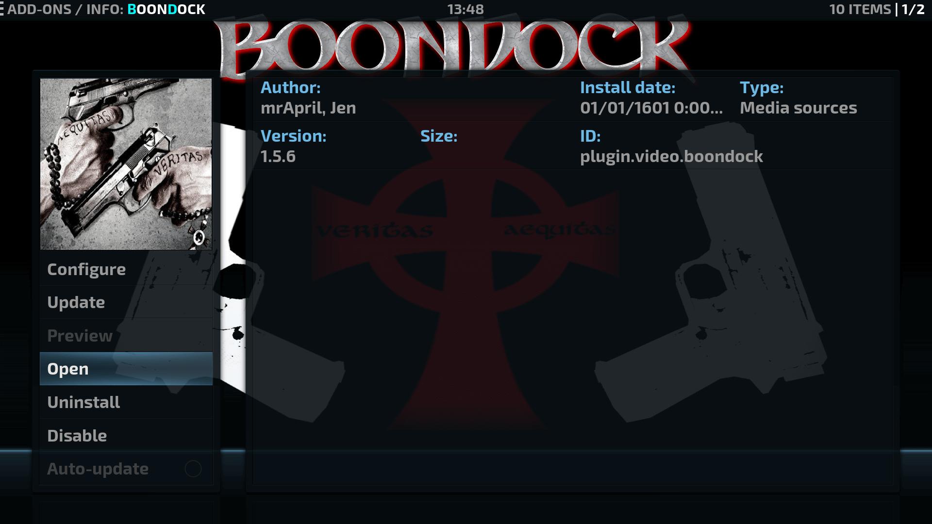 How to Install Install Boondock Kodi addon