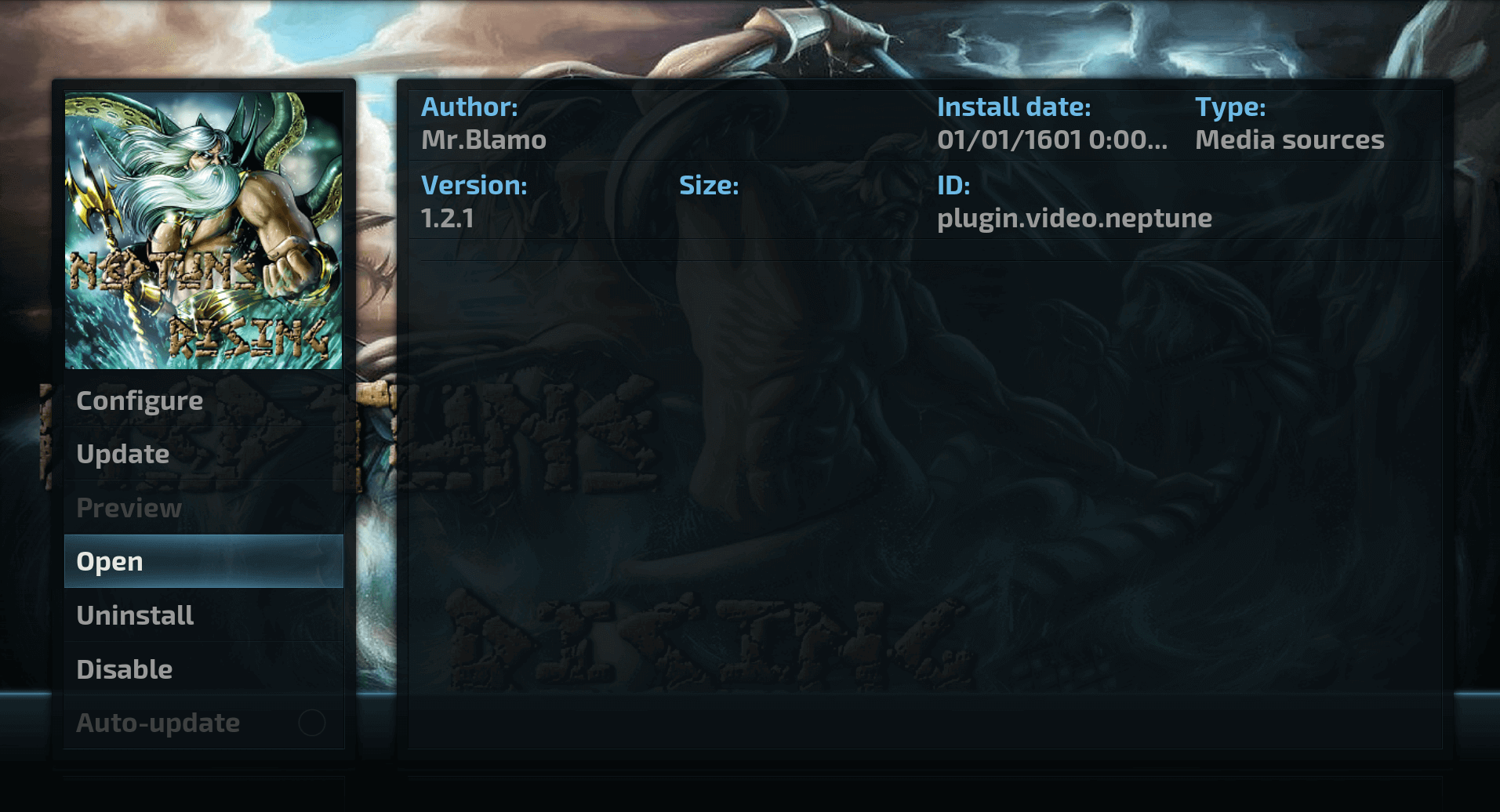 How to install Neptune Rising Kodi addon on Krypton