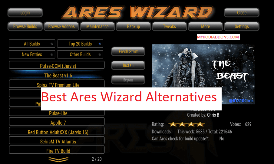 Best Ares Wizard Alternatives - Ares Wizard Replacement