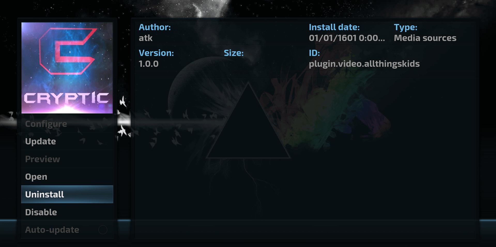 How to Install Cryptic Kodi addon on Krypton