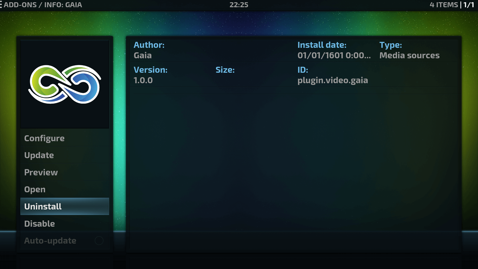How to Install Gaia Kodi addon on Krypton