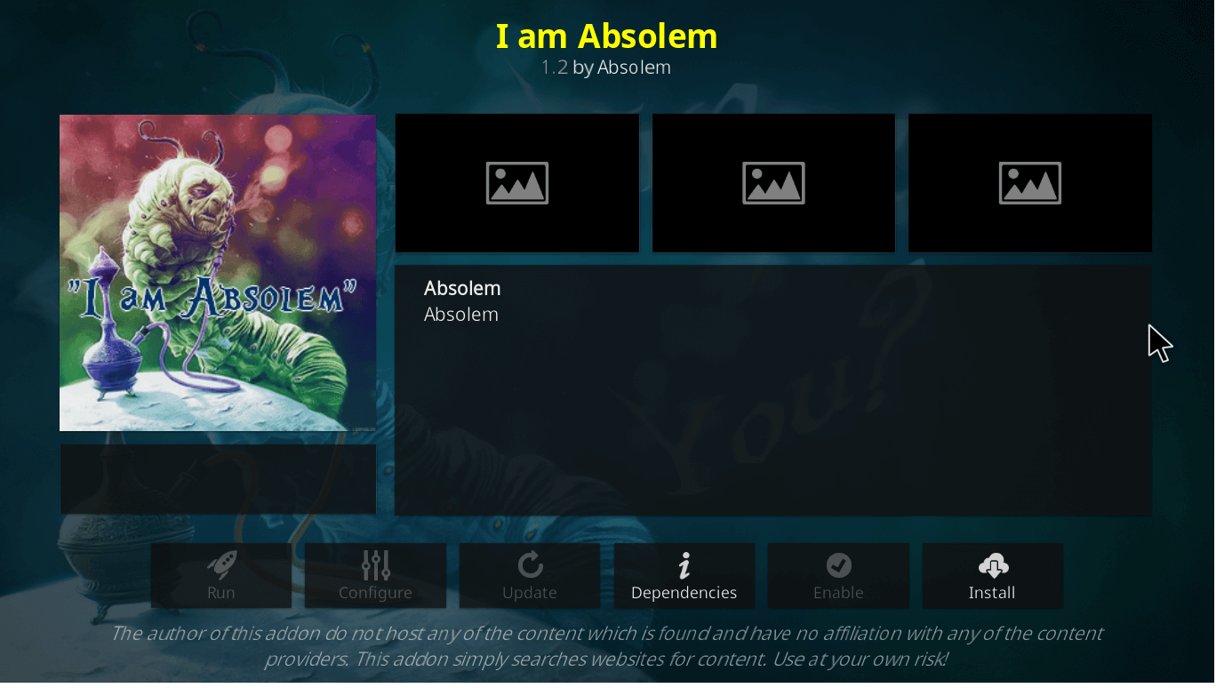 How to Install I am Absolem Kodi Addon