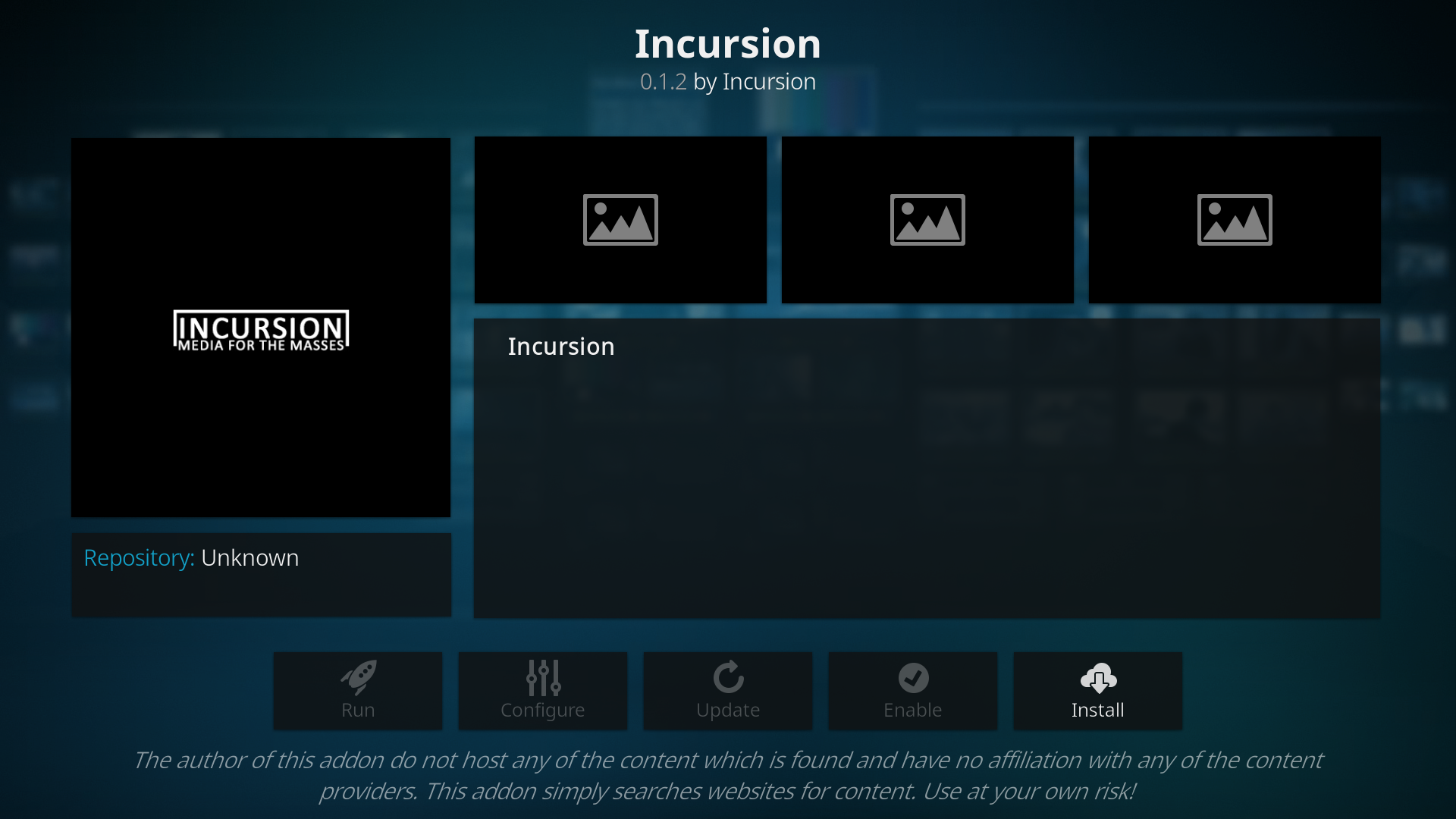 How to Install Incursion Kodi addon on Krypton Firestick