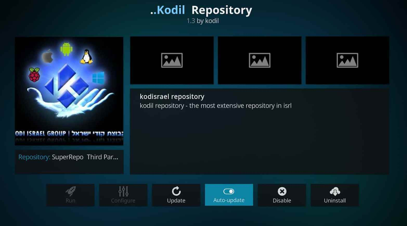 How to Install Kodil Repository on Kodi