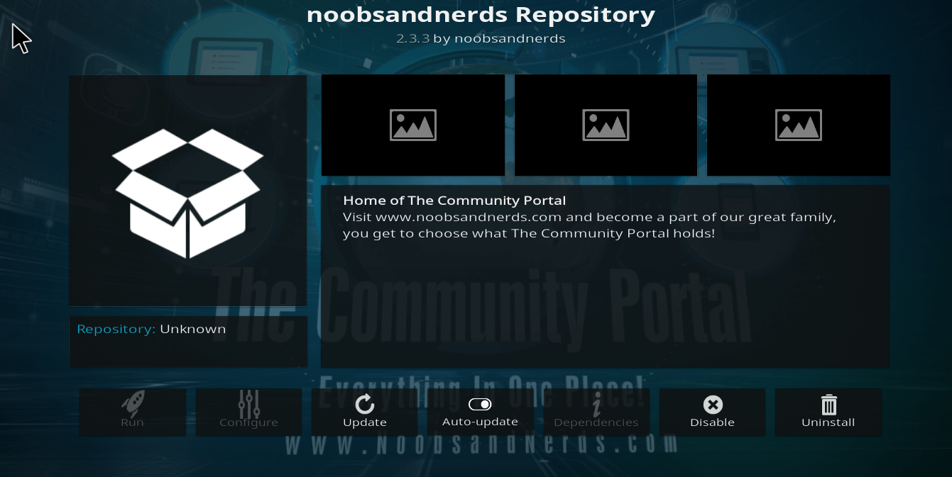 How to Install Noobs and Nerds Repository on Kodi