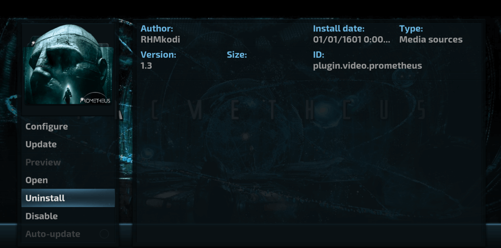How to Install Prometheus Kodi addon on Krypton