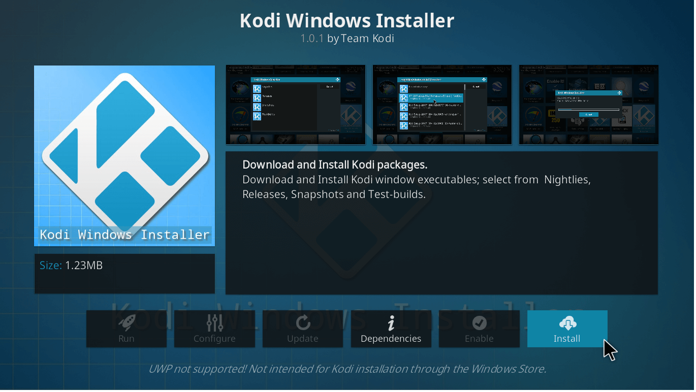 How to Update Kodi 17.6 on Pc