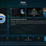Install Gaia Kodi Addon on Leia 18