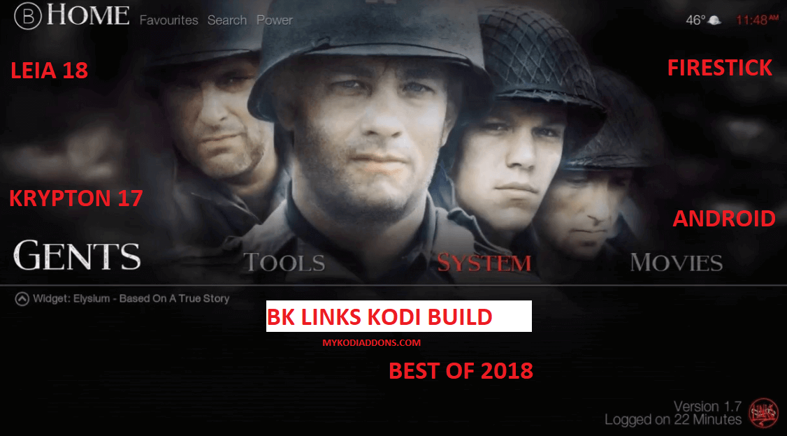 How to Install BK Links Kodi Build on Krypton and Firestick