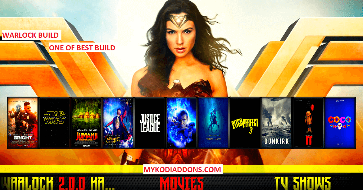 How to Install Kodi Warlock Build on Krypton & Firestick 2019