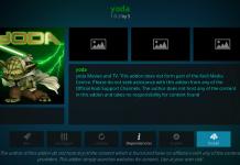 Install Yoda addon