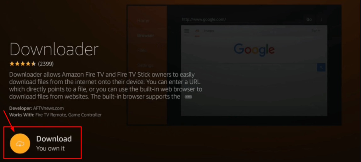 How to Download Downloader App in Firestick