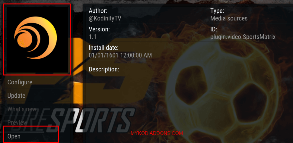 How to Install Sports Matrix Kodi addon on Krypton Firestick 2018