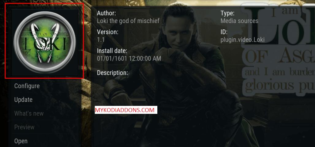 How to Install Loki Kodi Addon on Krypton