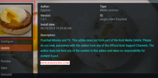 How to Install Poached Kodi Addon on Krypton 2018