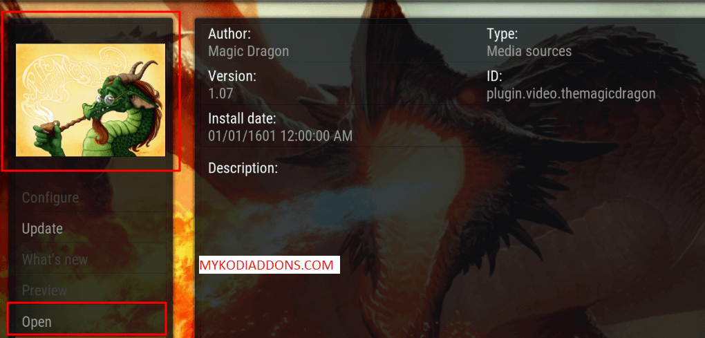 How to Install The Magic Dragon Kodi Addon 2018