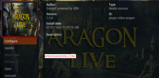 How to Install Aragon Live Kodi Addon