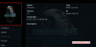 How to Install DeathStar Kodi Addon on Krypton 2018