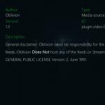 How to Install Oblivion Streams Kodi addon on Krypton Firestick