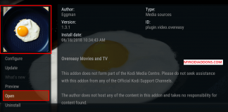How to Install Overeasy Kodi addon on Krypton