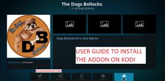 How to Install The Dogs Bollocks Kodi addon 2018