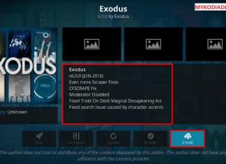 How to Update Exodus Kodi Addon 2018