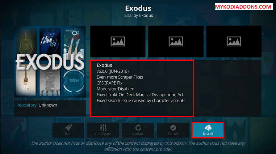 How to Update Exodus
