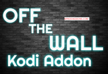 Install Off the Wall Kodi addon on Krypton 2018
