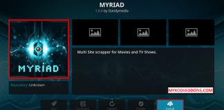 How to Install Myriad Kodi addon on Krypton