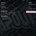 How to Install Tapout Kodi addon on Krypton 2018