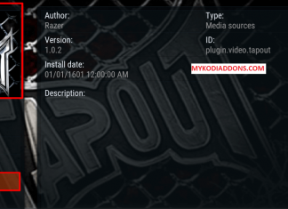 How to Install Tapout Kodi addon on Krypton 2018