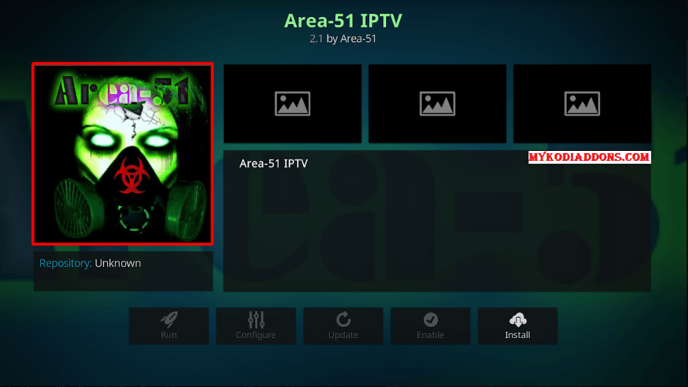 How to Install Area 51 IPTV addon on Kodi