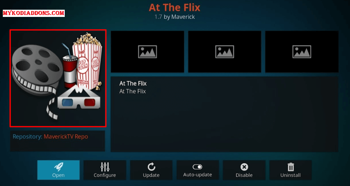 How to Install At The Flix Kodi Addon on Krypton