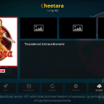How to Install Cheetara Kodi Addon on Krypton Firestick