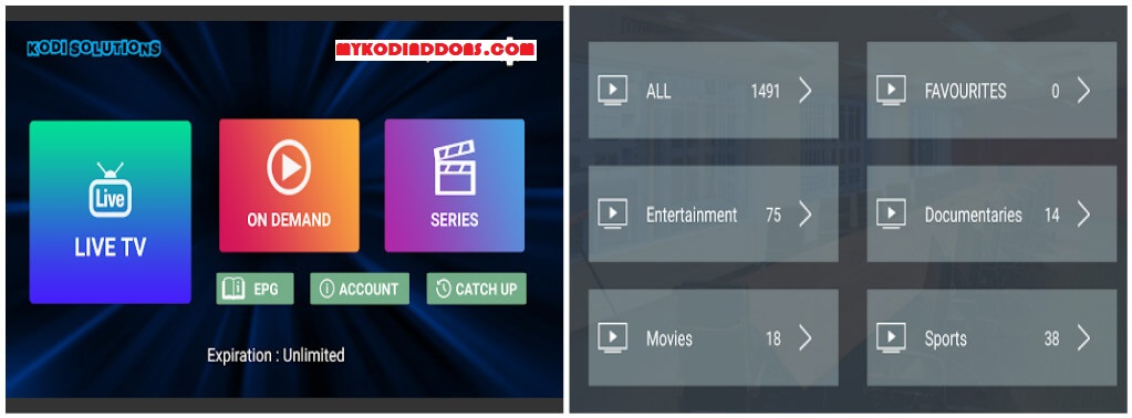 Kodi Solutions IPTV APK Download - Install on Firestick